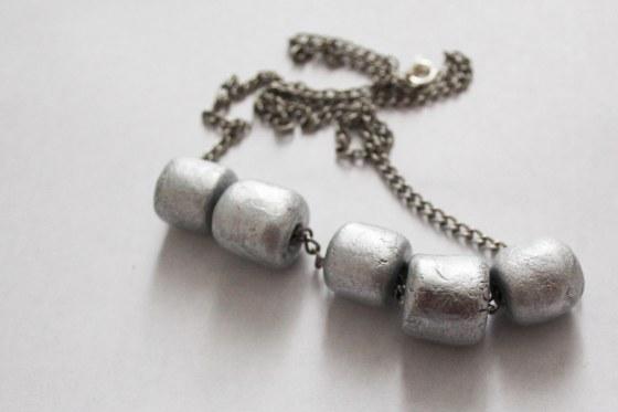 collier argenté 2
